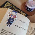 Luna Lovegood - mágneses könyvjelző