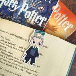 Draco Malfoy - mágneses könyvjelző