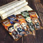 HP karakterek - matt fóliázott könyvjelző szett
